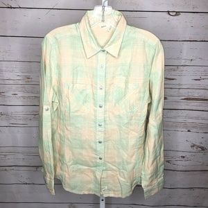 3 for $25 Woolrich Button Front Shirt Size M